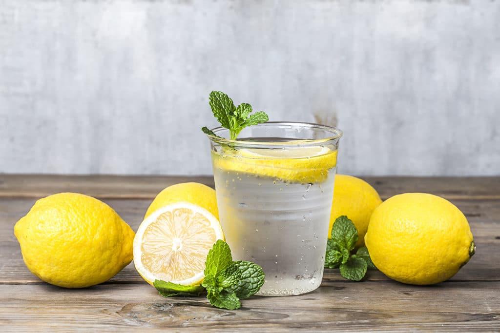 préparation eau alcaline