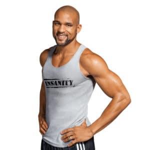 Insanity workout Shaun Thompson