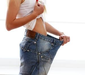 perte de poids lente