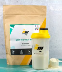 Native whey isolat - AM Nutrition