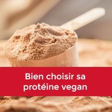Bien choisir sa protéine vegan