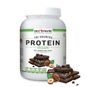 Protéine végane tri-source d'Eric Favre