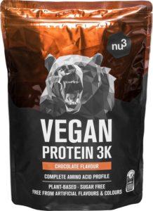 Protéines Vegan 3k de chez Nu3